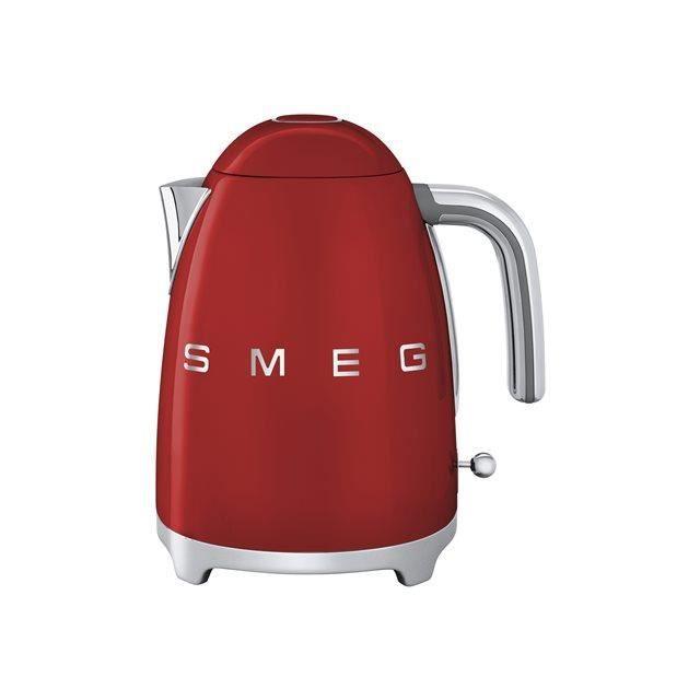 Bouilloire 1L7 rouge SMEG