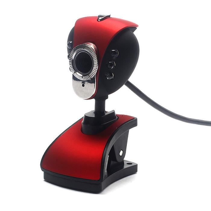 WEBCAM USB 2.0 HD Webcam Caméra Webcam avec microphone Mi