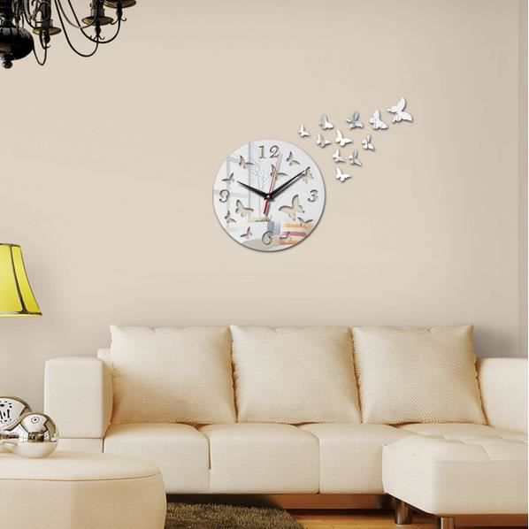 horloge geante murale accueil design et mobilier. Black Bedroom Furniture Sets. Home Design Ideas
