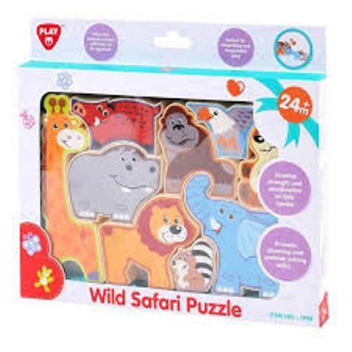 PUZZLE play go puzzle les animaux du safari neuf