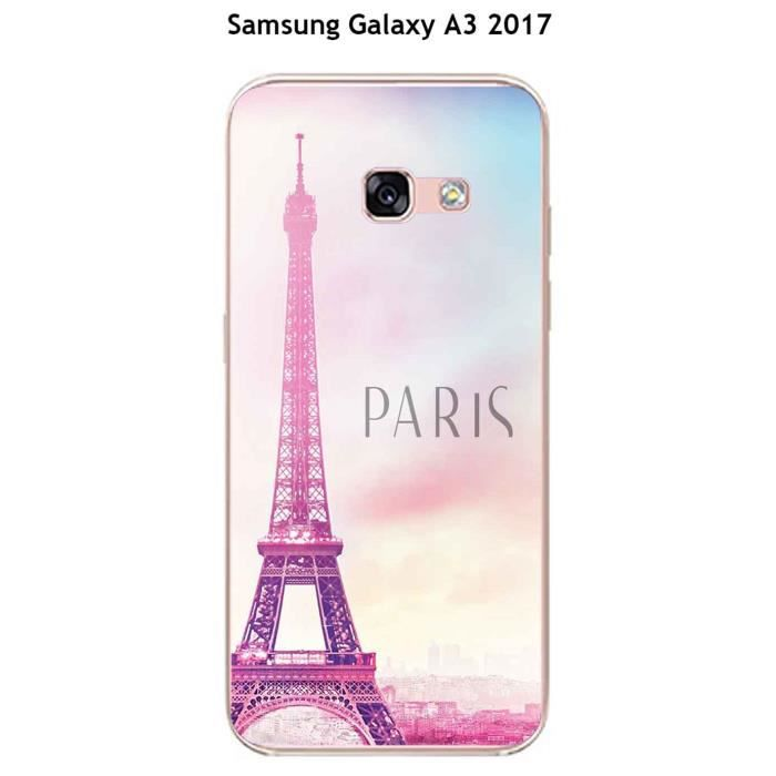 coque samsung galaxy a3 2017 design paris achat coque bumper pas cher avis et meilleur prix. Black Bedroom Furniture Sets. Home Design Ideas