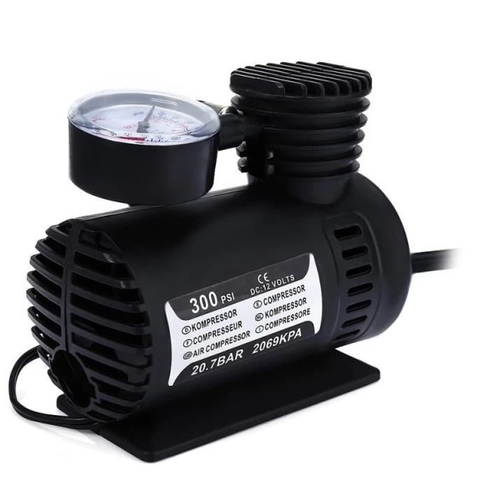 COMPRESSEUR 12V Mini DC 12V Voiture électrique Pompe gonflable Pom