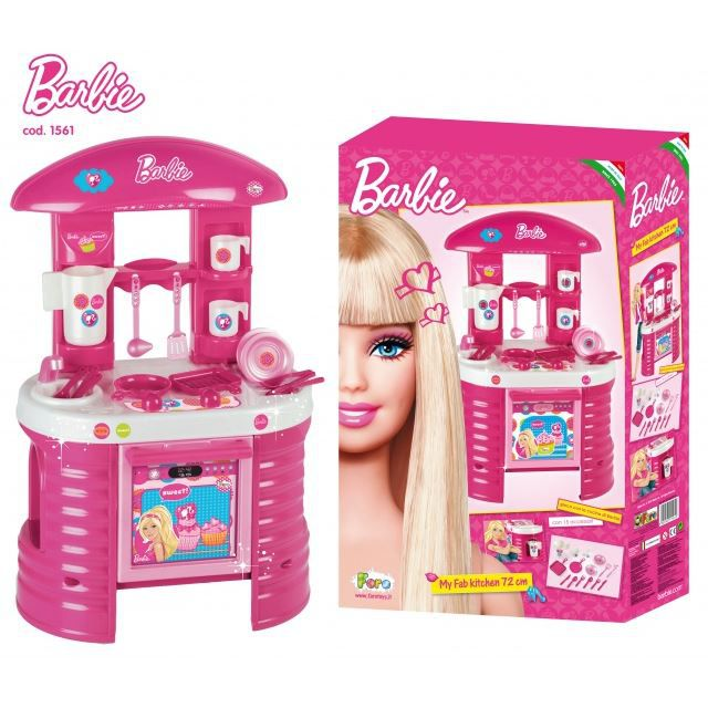 cuisini re barbie achat vente dinette cuisine cuisini re barbie cdiscount. Black Bedroom Furniture Sets. Home Design Ideas