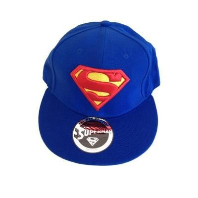 superman casquette baseball classic logo bleu achat vente casquette 3700334579612 cdiscount. Black Bedroom Furniture Sets. Home Design Ideas