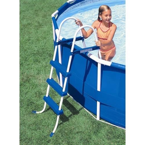 Echelle de piscine intex 107 cm achat vente echelle de for Echelle piscine intex