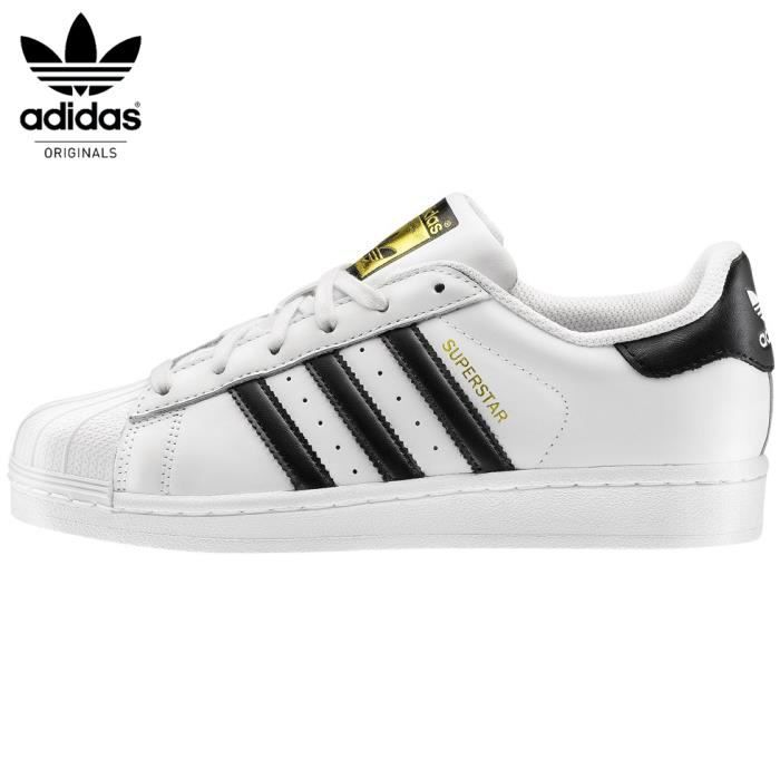 adidas originals superstar fondation blanc noir or. Black Bedroom Furniture Sets. Home Design Ideas