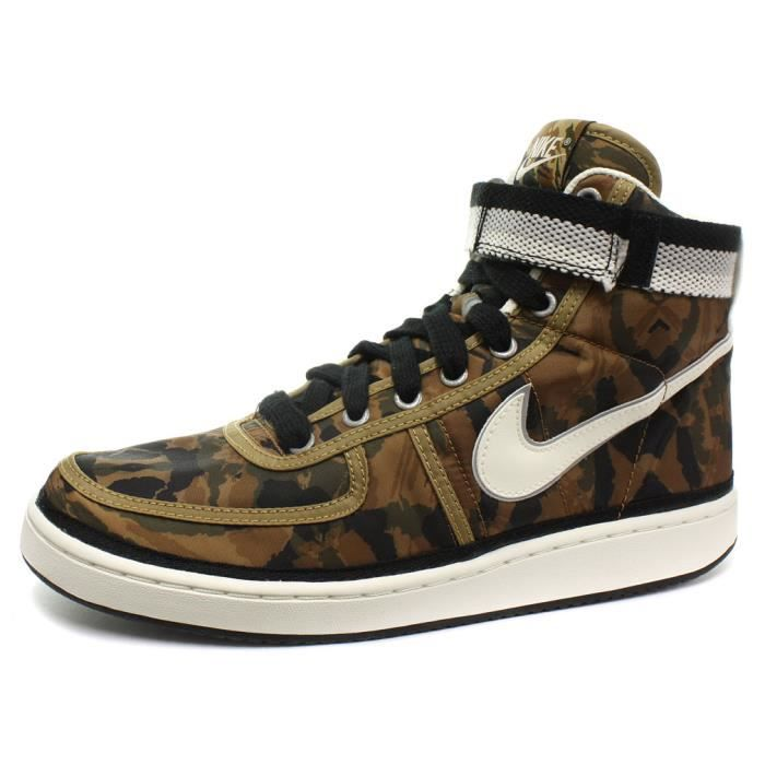 nike vandal high supreme vintage homme baskets sneakers beige achat vente basket cdiscount. Black Bedroom Furniture Sets. Home Design Ideas