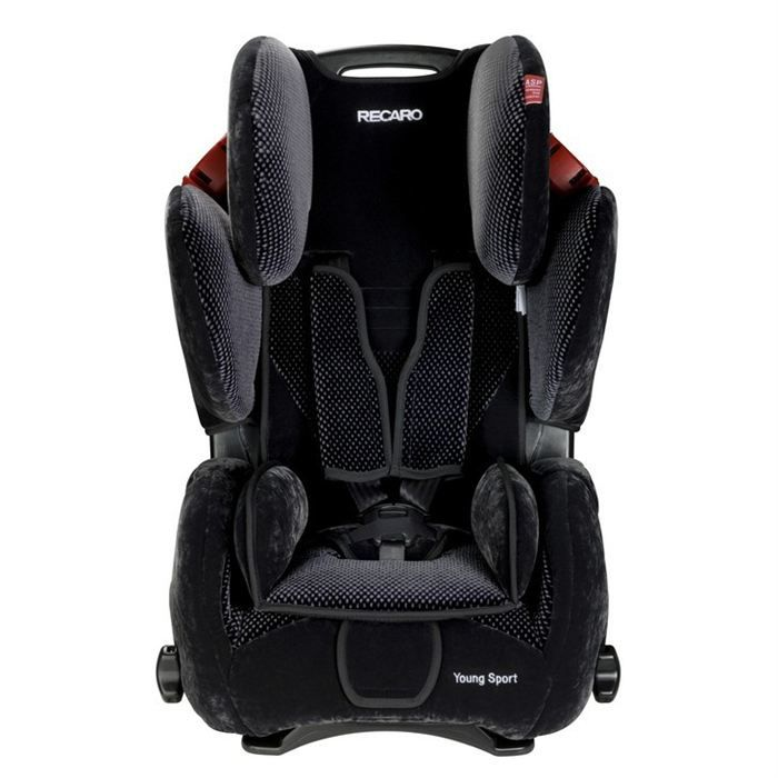 recaro si ge auto young sport gr1 2 3 black aqavit achat. Black Bedroom Furniture Sets. Home Design Ideas
