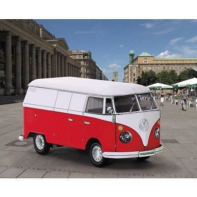 maquette en carton vw combi bus achat vente voiture. Black Bedroom Furniture Sets. Home Design Ideas