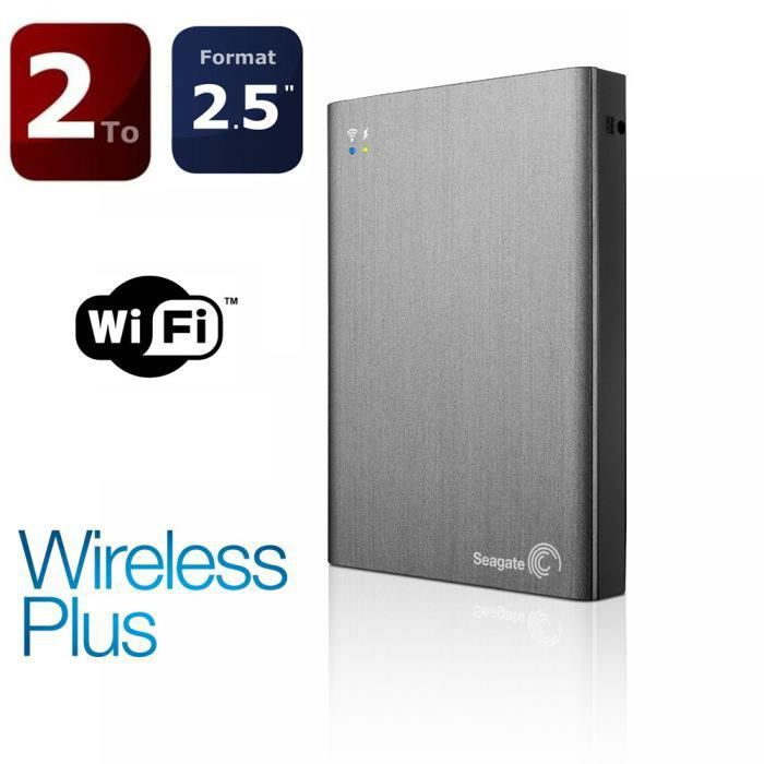 seagate 2to wireless plus disque dur externe prix pas. Black Bedroom Furniture Sets. Home Design Ideas