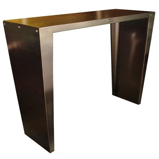 Table rectangulaire mange debout en acier 150x5 achat - Table mange debout rectangulaire ...