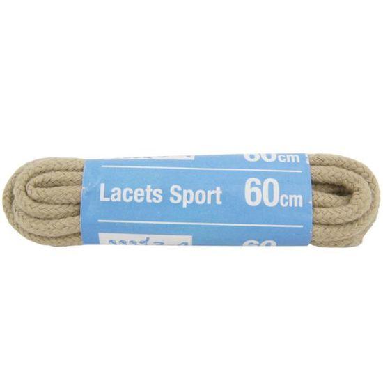 Lot de 10 Lacets Chaussure sport coton Rond Noir 90cm
