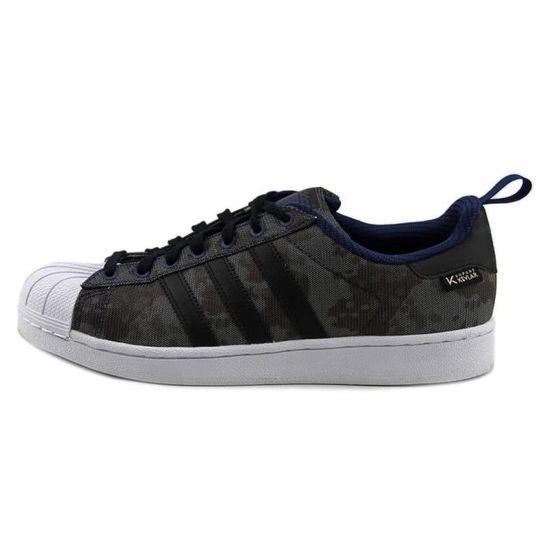 Adidas Superstar Hommes Toile Baskets Gris - Cdiscount Chaussures