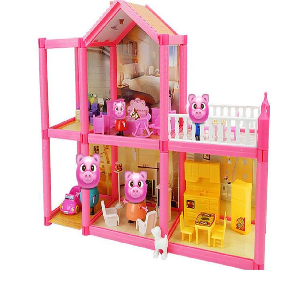peppa pig princesse suite maison c collection achat vente maison m nage cdiscount. Black Bedroom Furniture Sets. Home Design Ideas