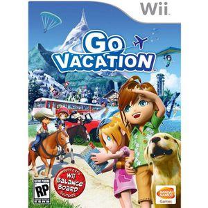 JEU WII GO VACATION / Jeu console Wii