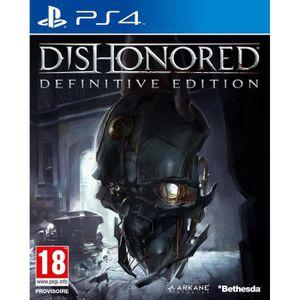 JEU PS4 Dishonored Definitive edition Jeu PS4