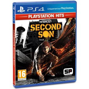JEU PS4 InFamous Second Son PlayStation Hits Jeu PS4