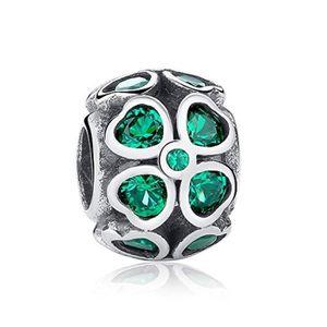 Charm's Charm S R7Z1Z charme des femmes trèfle vert charme