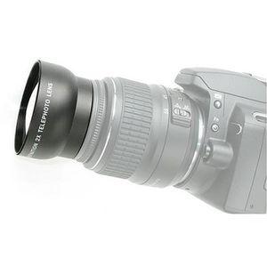 OBJECTIF HD 52 mm téléconvertisseur 2X Fixation de l'appare