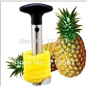 DECOUPE FRUIT Découpeur, trancheur et videur d'Ananas en acier i