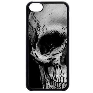 coque iphone 5 c tete de mort