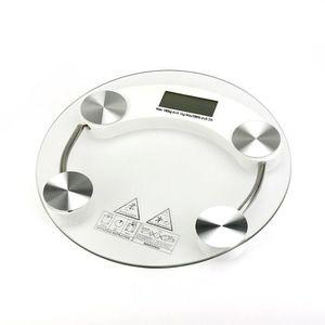 PÈSE-PERSONNE Pèse-personne électronique en verre transparent ro