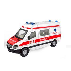 VOITURE - CAMION La voiture de secours de traction de jouet d'enfan
