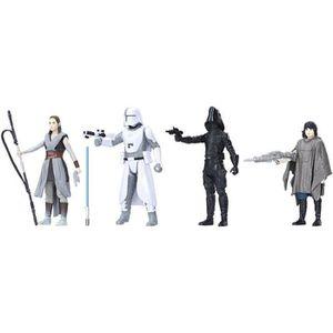 The Last Jedi BATTLE sur CRAIT-Force Link 3 3//4 pouces 4-Pack Promotion! Star Wars