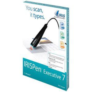 SCANNER I.R.I.S. IRISPen Executive 7, Stylo scanner, Noir,