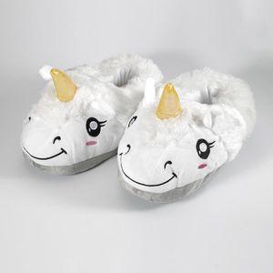 CHAUSSON - PANTOUFLE Paire de Chaussures blanches CHAUSSONS pour Femme
