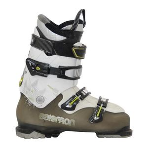 CHAUSSURES DE SKI Chaussure de ski Salomon quest access 80 kaki/blan
