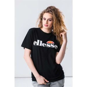 T-SHIRT T-Shirt Ellesse Albany noir pour femmes. SGS03237.