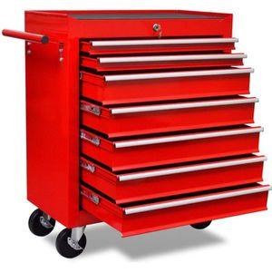DESSERTE CHANTIER Chariot à outils de l'atelier Servante d'Atelier