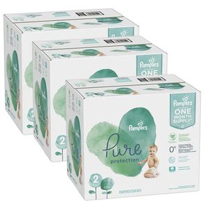 COUCHE 540 Couches Pampers Pure Protection taille 2