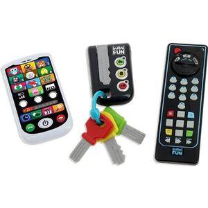 CONSOLE ÉDUCATIVE INFINI FUN- Coffret Clés Téléphone Télecommande Ed