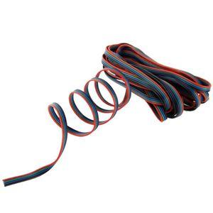LED ET ACCESSOIRES Connecteur fiche LED Câble RGB Extension bande Lon