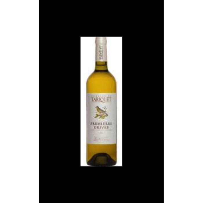 Vin, blanc, Domaine du Tariquet, premieres grives 2019 Blanc