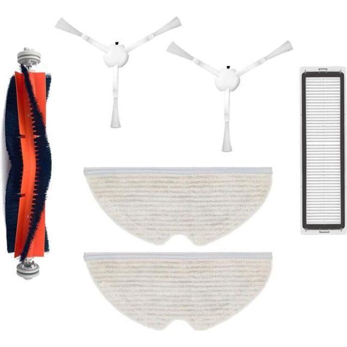 Kit d'accessoires pour aspirateur Robot Dreame D9, rouleau principal, brosse latérale, filtre Hepa, serpillière [4316BB6]