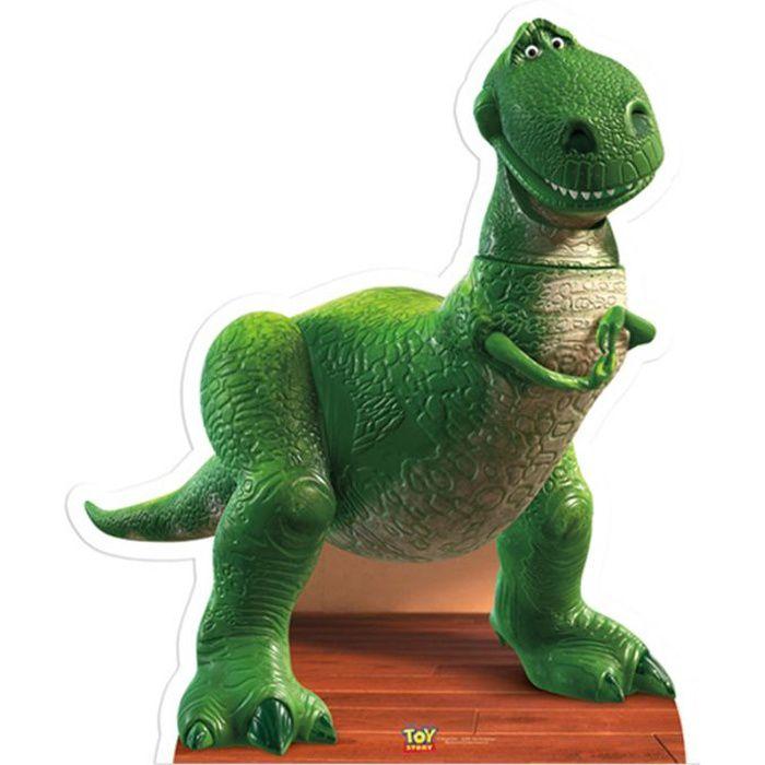 Figurine en carton taille réelle Rex Toy Story