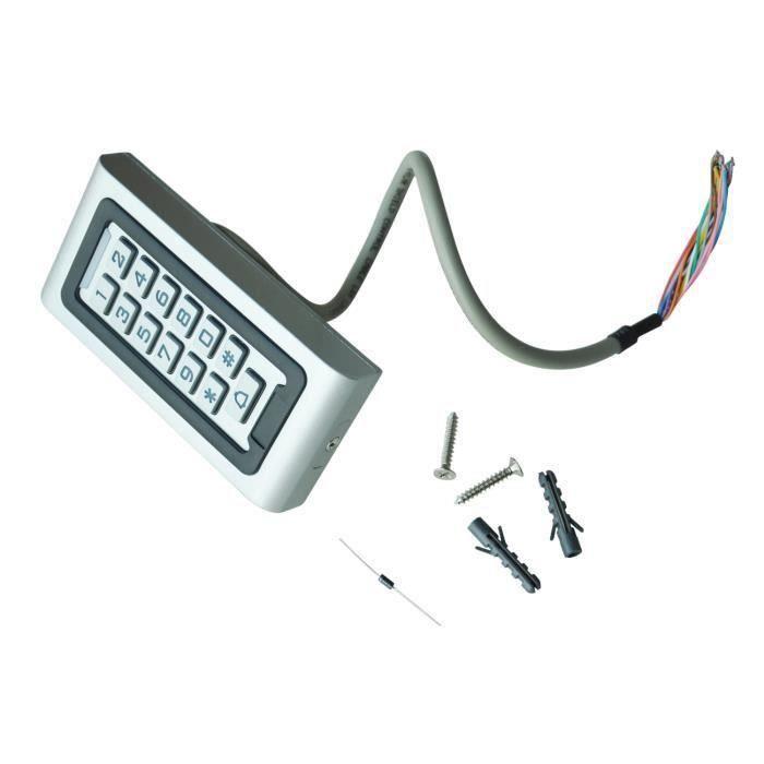 Controle d'acces Porte Digicode Clavier RFID Lecteur Proximite Securite Maison