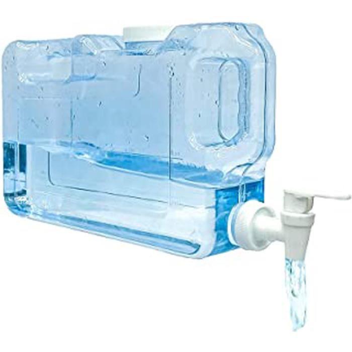 Distributeur D'Eau Froide Pour Réfrigérateur.4,2 Litres. Bouteille En Plastique Petg Réutilisable Avec Robinet. Fontaine D'Eau,