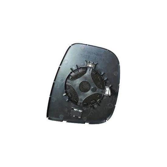 Miroir Glace rétroviseur extérieur gauche CITROËN BERLINGO II phase 2, 2012-2015 dégivrant à clipser.