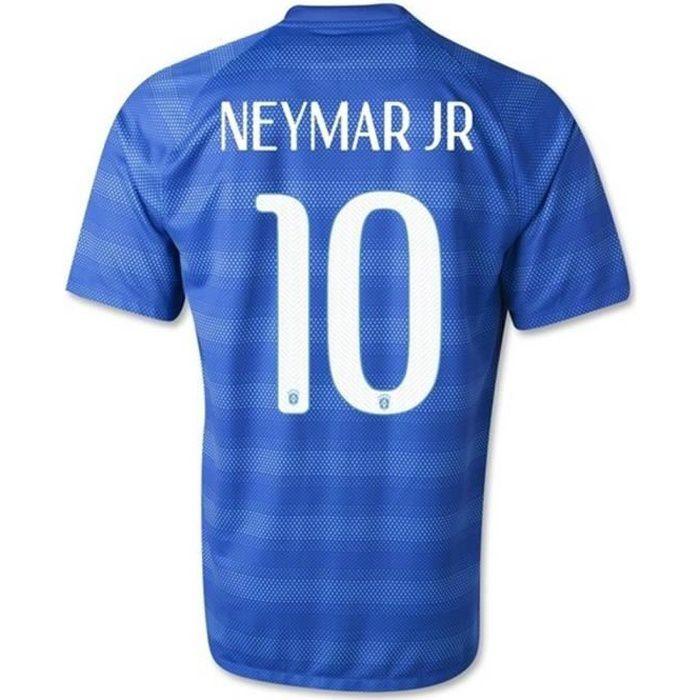 Maillot Occasion Comme neuf Pro Officiel Nike Brésil Coupe du Monde 2014 Flockage Officiel Neymar Numéro 10