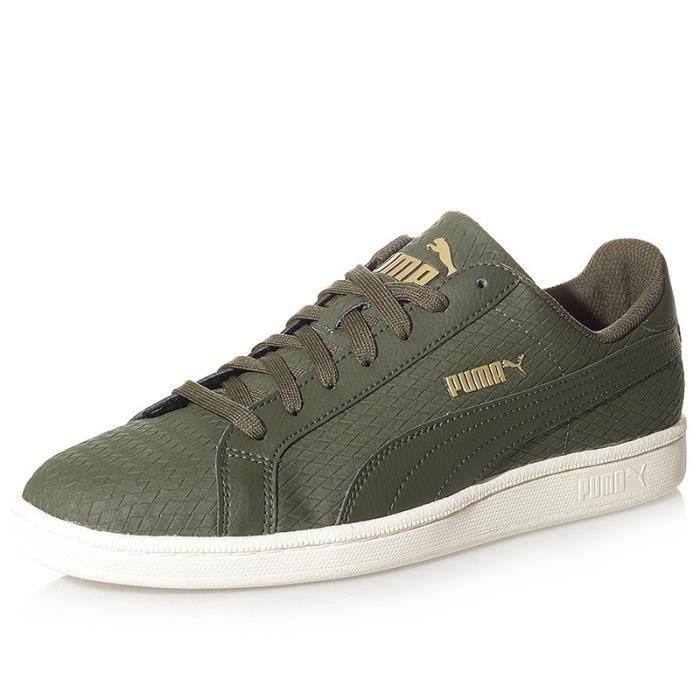 Chaussures Smash Woven Kaki Homme Puma