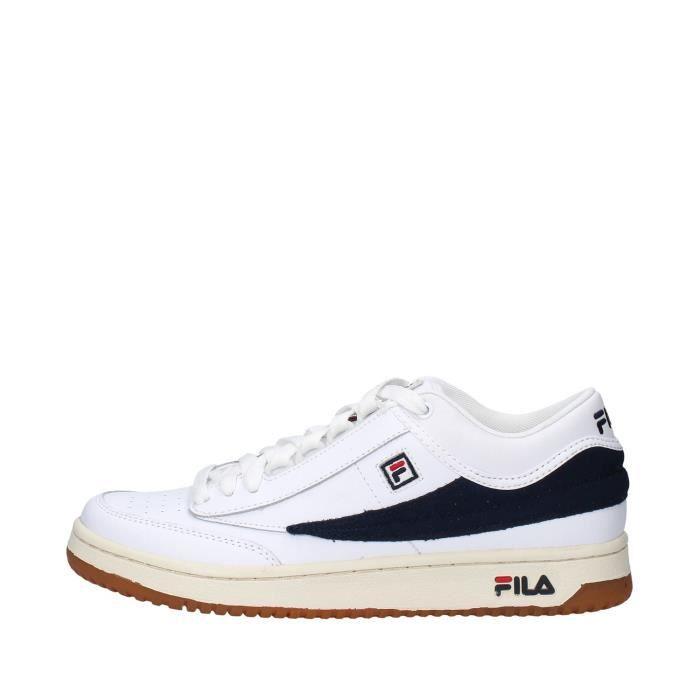Fila 1010496 chaussures de tennis faible homme BLANC