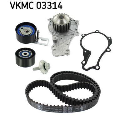 SKF Kit de distribution + pompe à eau VKMC 03314