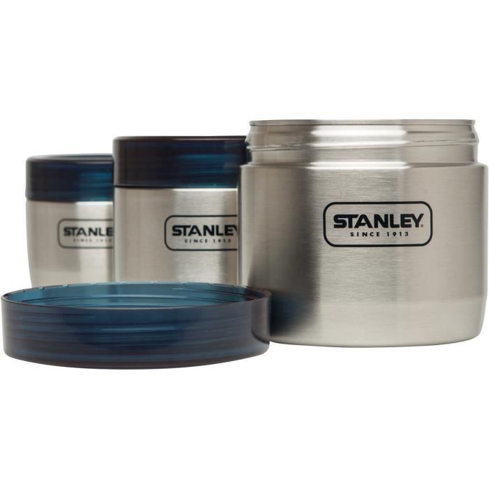 Stanley Adventure - Vaisselle - 3-Pieces gris/bleu