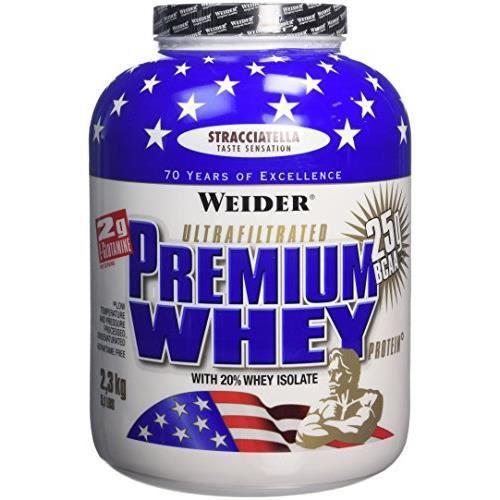WEIDER Sachet de Premium Whey 2.3kg Straciatella