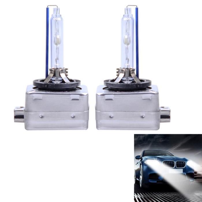 Phare Xénon Voiture 2 PCS D1S 35W 3800 LM 8000K ampoules Xenon HID Lights Lampes DC 12V lumière blanche