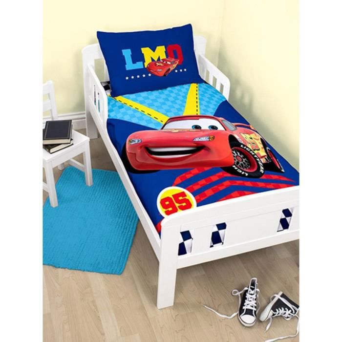 parure de lit b b cars piston disney achat vente. Black Bedroom Furniture Sets. Home Design Ideas
